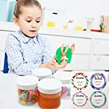 SGHUO 15 Pack 6oz Empty Slime Containers with