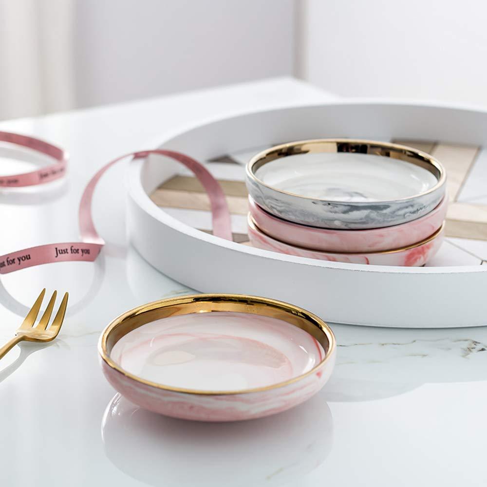 Ceramic Jewelry dish Jewelry trays Soy sauce dish Nordic Small Jewelry plate