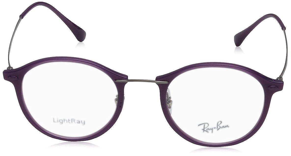 c1564be5f6e Amazon.com  Ray-Ban RX7073 - 5617 Eyeglasses Shiny Violet 47mm  Shoes