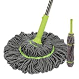 Professional Plus Microfiber Twist Mop Keeps Hands Dry with This Sturdy Mop,#a2