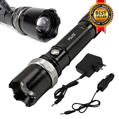 Tactical Police Heavy Duty 3W Rechargeable - Singapore Popular Outlets In