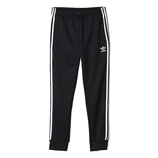 : adidas hombre 's Originals Superstar esposado los pantalones de la pista