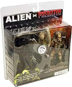 Neca - Lote de 2 figuras de acción, diseño de Alien y Predator