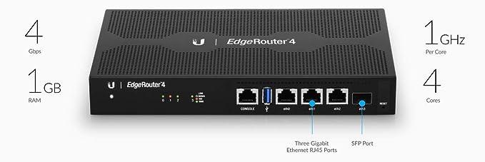 Edgerouter 4 (ER-4)