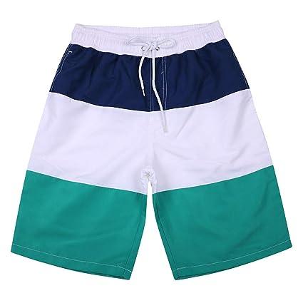 936f708ae18c2 Amazon.com  Plus Size Swim Truck Swimwear for Men Youth