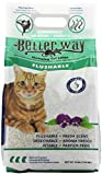 Better Way Eco Fresh Clumping Cat Litter (formerly Flushable Cat Litter), 12lb bag