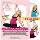 Knocked-Up Fitness by Erica Ziel, 2 Prenatal DVD's Set with Exercise Band (A $10 Value)