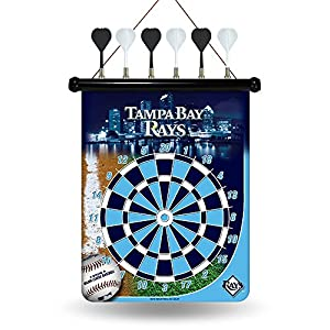 MLB Tampa Bay Rays Magnetic Dart Board