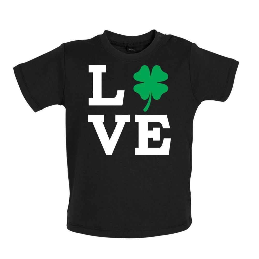 Baby//Toddler T-Shirt 3-24 Months Clover Love