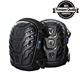 LAROSA MEDICAL Protective Knee Pads - Knee Protector for Gardening, Cleaning, Flooring, Working, Construction - Comfortable Gel Cushion, Heavy Duty Foam Padding, Strong Straps & Adjustable