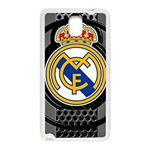 WAGT Real Madrid Club de Football Design Fashion Comstom Plastic case cover For Samsung Galaxy Note3