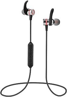 Challenge Casque d'écoute stéréo sans Fil Bluetooth Sport écouteurs résistant à la Sueur avec Micro/Sweatproof Headphones Wireless Bluetooth Sport Earphones Stereo Headset with Mic Bleu