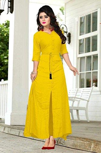 amarillo Elegante Fashions mujer para de color vestido Amit qSfnZOwXq