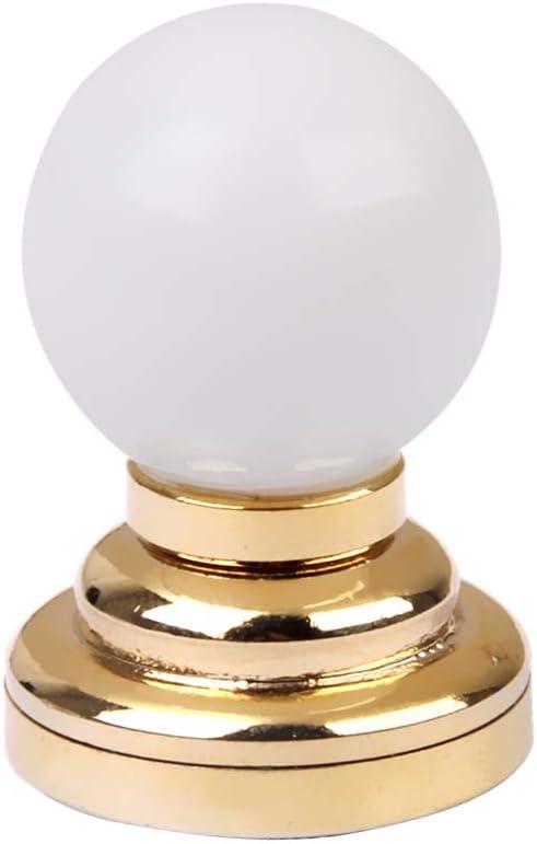 1:12 Puppenhaus Beleuchtung   Miniatur LED Licht Schreibtischlampe mit