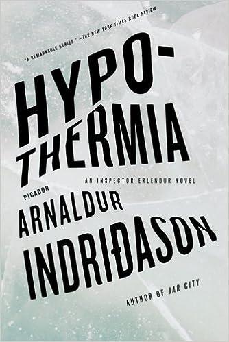 Amazon com: Hypothermia: An Inspector Erlendur Novel (An