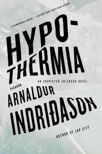 Hypothermia Inspector Erlendur Novel product image