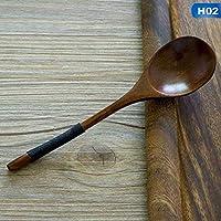 Ushixishiq Cuchara de Madera de bambú Cocina Que