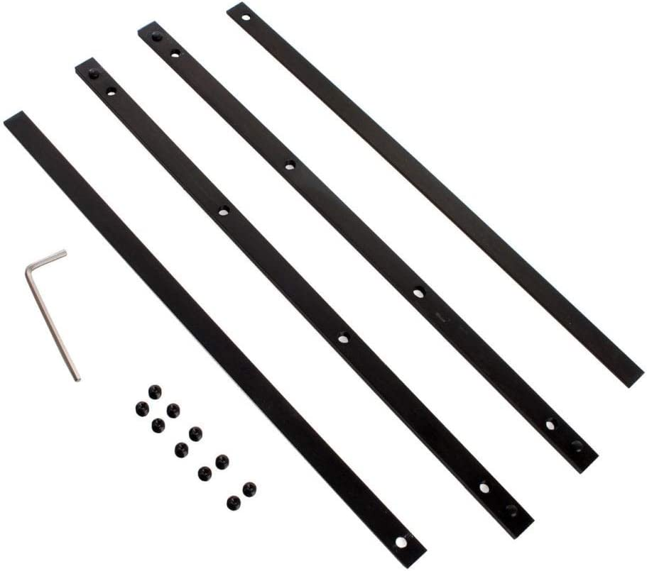 Makita p-20177/binario di guida connettore Twin set 1/nero