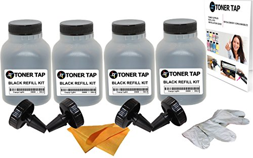 Toner Tap ® 4-Pack Refill Toner for SAMSUNG MLT-D111S, For Use in Samsung Xpress SL-M2020W, SL ...