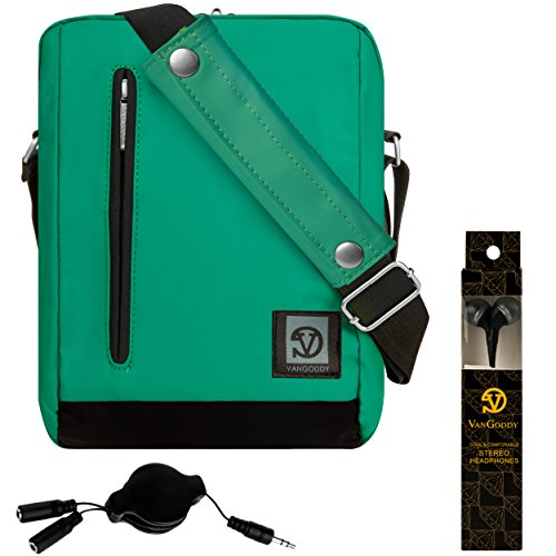 VanGoddy Adler Jade Green Anti Theft Shoulder Bag Case for Apple iPad Pro 9.7