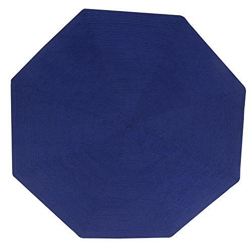 Better Trends/Pan Overseas 4' Octagonal, Navy Solid