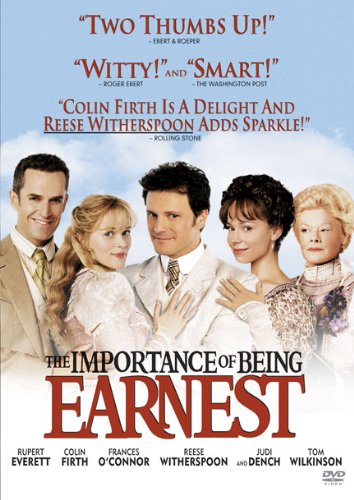 DVD : The Importance of Being Earnest (, Dubbed, Dolby, AC-3, Widescreen)