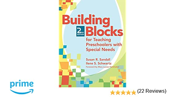 Amazon.com: Building Blocks for Teaching Preschoolers with Special ...