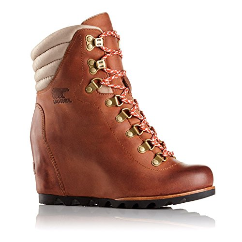 SOREL Women's Wedge Elk Conquest Booties rqrgPwU