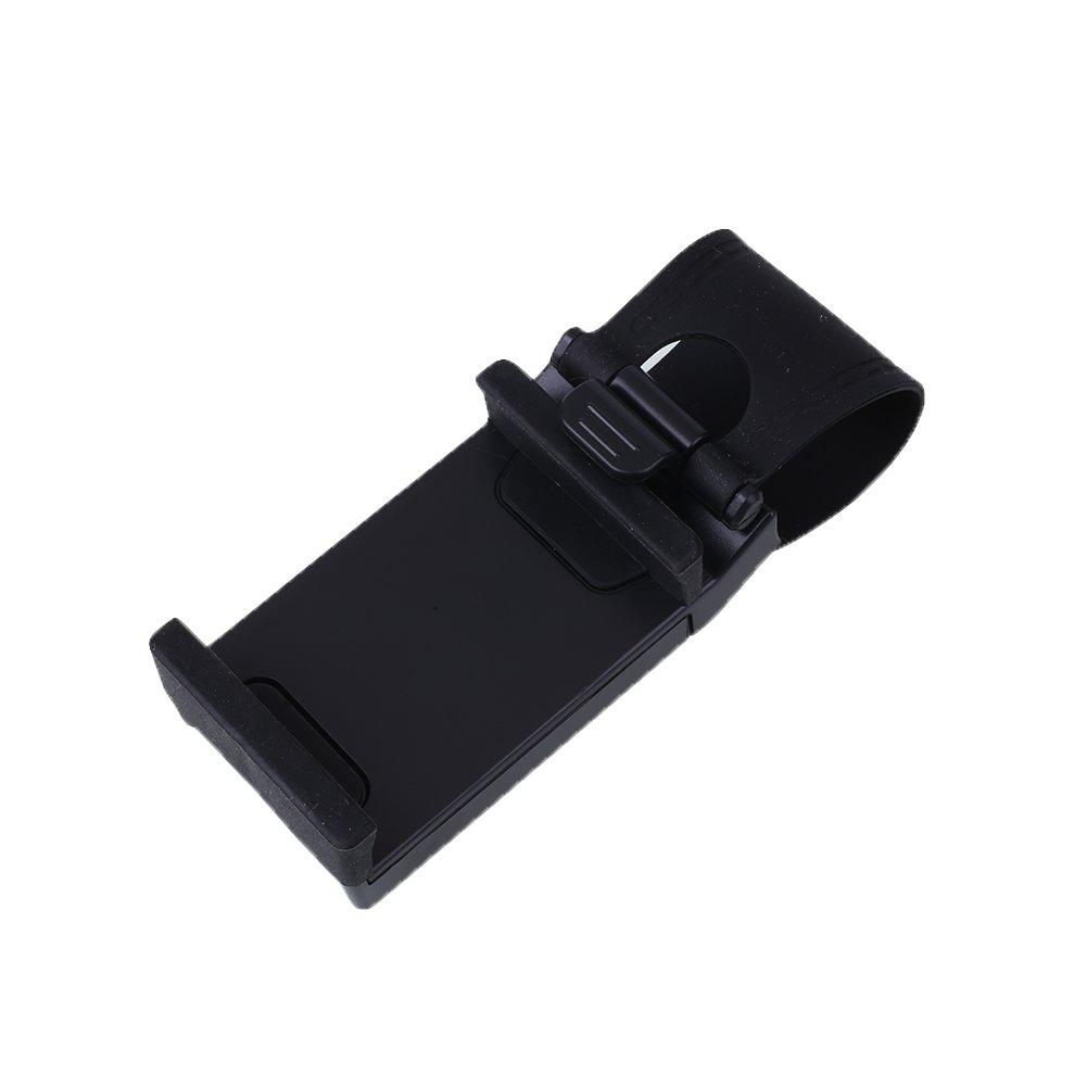 Bolange Montaje del volante del coche Soporte del sostenedor del GPS del tel/éfono m/óvil ajustable universal