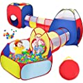 Sunba Youth Kids Tent with Tunnel, Ball Pit Play House for Boys Girls, Babies and Toddlers Indoor& Outdoor(Balls Not Included) by Sunba Youth that we recomend personally.