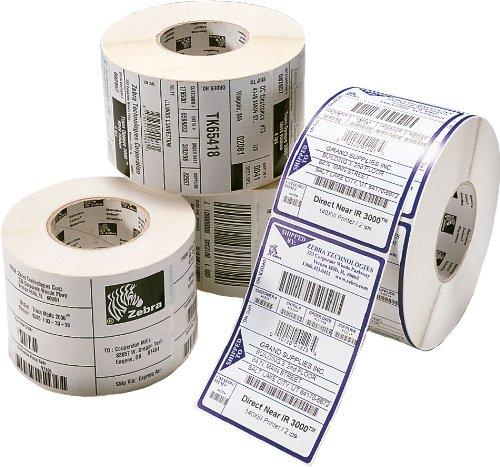 Zebra Media 72374 4pk Z-slct 4t Alltemp 4.00x2.50 2220 Per Roll 4 Per Case by Zebra Technologies
