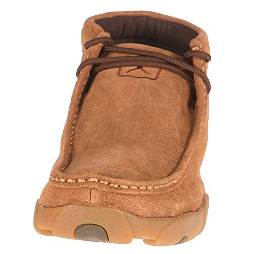 Twisted X Boots Herren Roughout Driving Moc Braun