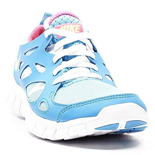 Unisex 2 Run Light Blu Corsa da Free Bambino GS Nike Scarpe Blue TxwE0FZ5
