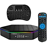 Easytone T95Z PLUS Android TV Box,Octa Core Smart TV Box 2GB RAM 16GB ROM Android 6.0 Amlogic S912 Support 2.4G/5G Dual Wifi/1000M LAN/BT 4.0/4K Resolution/3D TV Boxes with Mini Wireless Keyboard