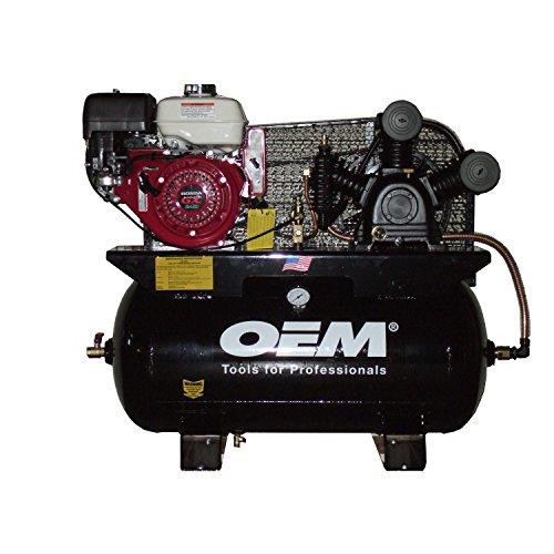 OEMTOOLS OEMTUE8030HGE 8 HP 30 Gallon Air Compressor Honda Engine - Hewlett Packard Engine