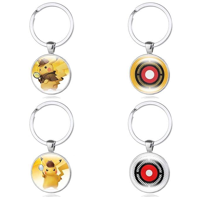 Amazon.com: Llavero de aleación de Deadpool Pikachu con ...