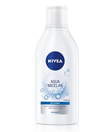 Amazon.com: Nivea Agua Micelar Piel Normal 400Ml: Beauty