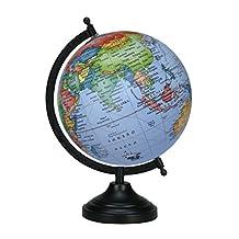 Rotating Ocean World 13 Big Globe Blue Decorative Geography Earth Home Decor