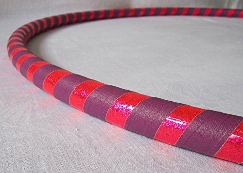Weighted Hula Hoop for Exercise and Fitness – Glitter & Prismatic Tapes For Sale