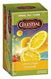 Celestial Seasonings Herb Tea Lemon Zinger 20 Bag