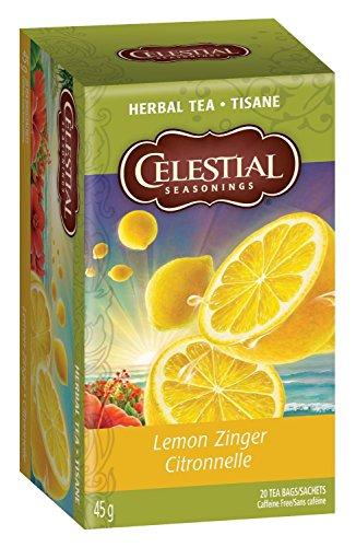 Celestial Seasonings Herb Tea Lemon Zinger 20 Bag by Celestial Seasonings