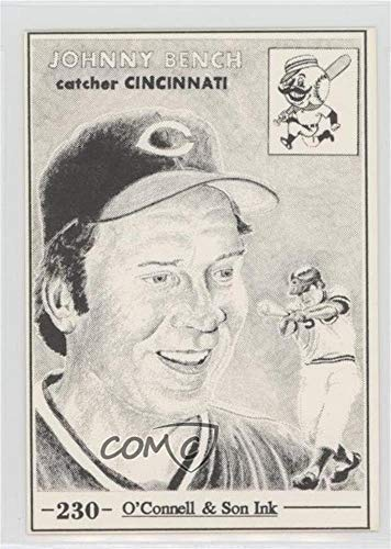 Johnny Bench (Baseball Card) 1984-91 O'Connell & Son Ink - [Base] #230 ()
