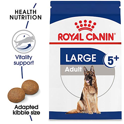 Royal Canin Size Health Nutrition Large Adult 5+ Dry Dog Food, 30-Pound (Best Dog Companion For German Shepherd)