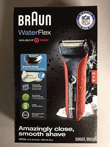 Braun WaterFlex Electric Shaver Swivel