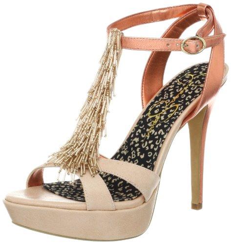 Jessica Simpson Women's Bennies Platform Sandal,Pale Pink,9.5 M US