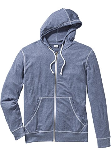 Herren Shirtjacke Regular Fit, 211764 in Indigo meliert (48/50(M)):  Amazon.de: Bekleidung