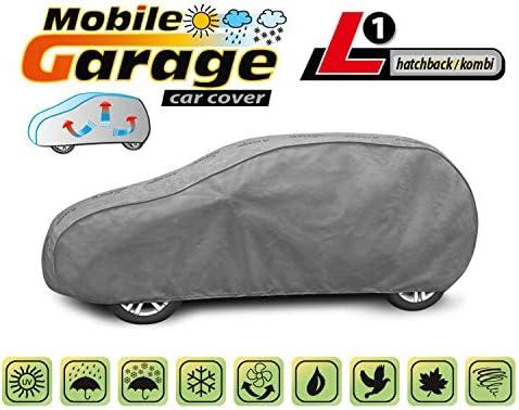Vollgarage Ganzgarage Mobile L1 kompatibel mit Peugeot 2008 Schutzplane Abdeckung
