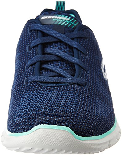 Grey Skechers Glider Mujer Azul navy Para Young forever Zapatillas v8OnWqdZv