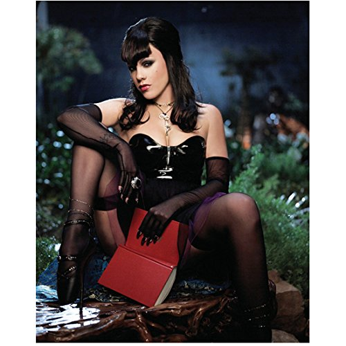 Pink Photo 8 inch x 10 inch PHOTOGRAPH Who Knew Try Red Cover Open Book Over Privates Black Lingerie kn