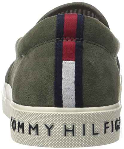 da Slip Basse Olive On Scarpe Suede Dusty Uomo 011 Hilfiger Heritage Tommy Verde Ginnastica Sneaker RxwpH4nq